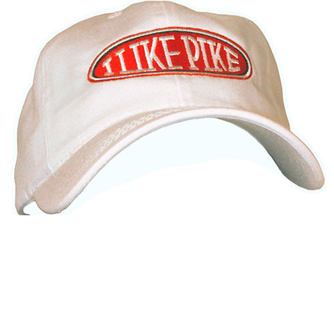 Cap: I Like Pike — FRONT (Shown in White)