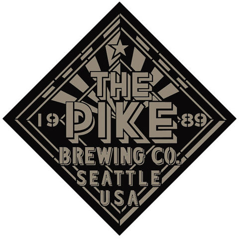 Logo: Simple Pike Diamond engraving