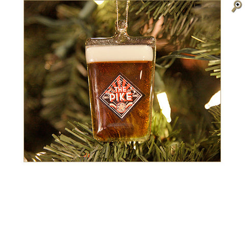 Pike Beer Glass Ornament