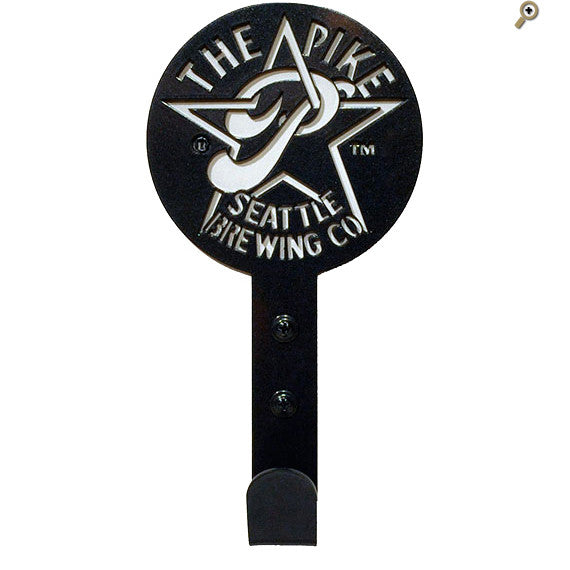 Pike Star P Metal Hook in Charcoal