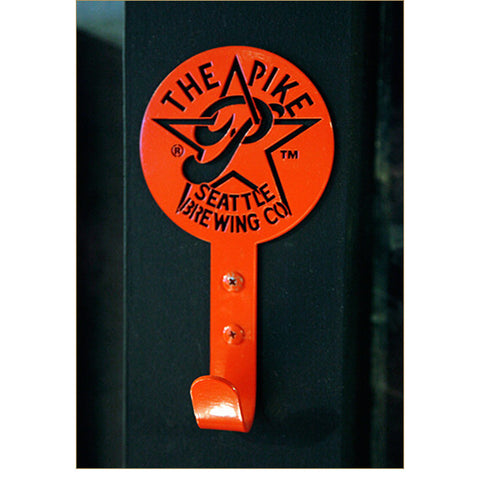 Pike Star P Metal Hook in Coral