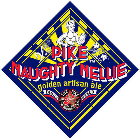 "BACK: ""Naughty Nellie"" Logo"