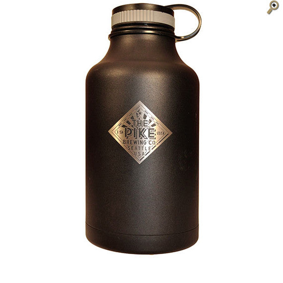 Stainless Steel Growler: The Pike — FRONT