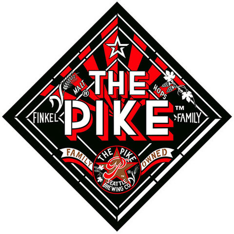 "BACK: ""The Pike"" diamond Logo"