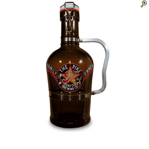Growler: Porcelain Flip-Top 'Euro'