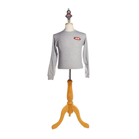 Men's Long Sleeve T-Shirt: The Pike in Athletic Heather