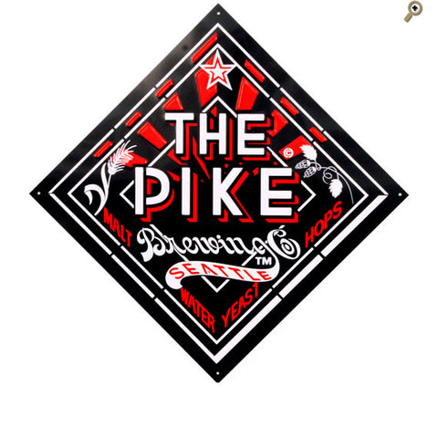 Metal Pike Diamond Tacker Sign