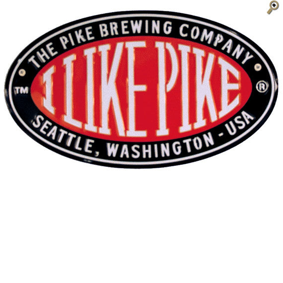I Like Pike Oval Tacker Sign