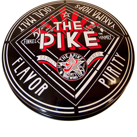 The Pike Metal Serving Tray (Upside down)...