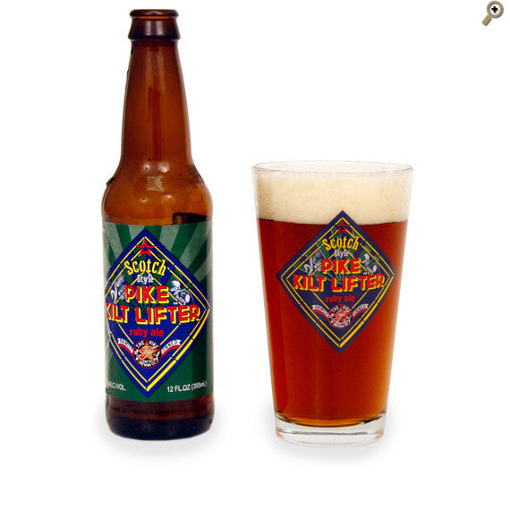Pint Glass: Kilt Lifter
