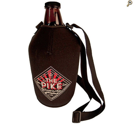 Growler Koozie with Strap