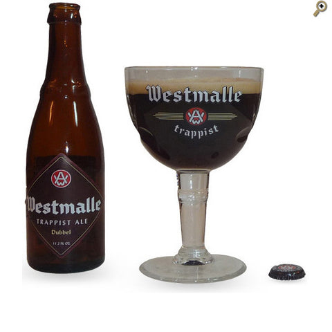 Westmalle Belgian Abbey Glass