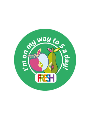 School Meals Stickers - 5-a-day