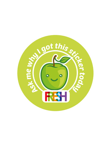 School Meals Stickers - Ask me why...