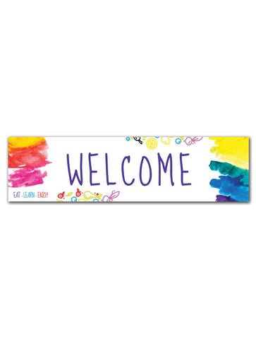 Bright & Beautiful - Welcome Board