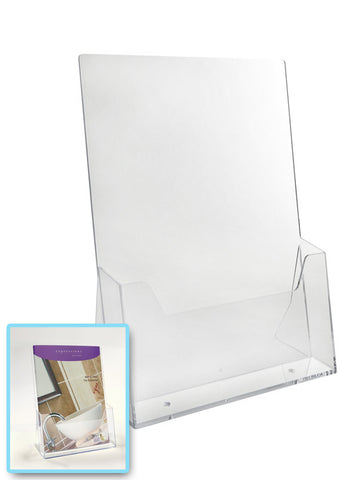 A4 Acrylic Countertop Leaflet Dispenser