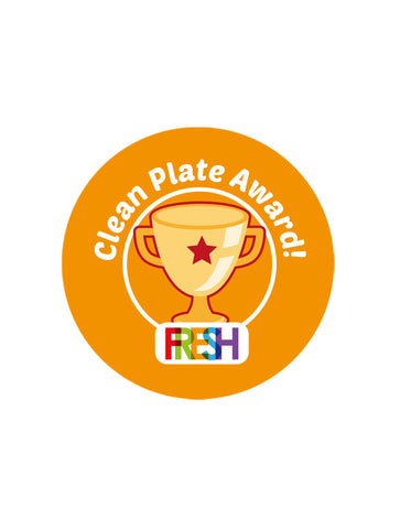 School Meals Stickers - Clean Plate Award