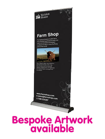 Deluxe Roll Up Banner - 1000mm Wide