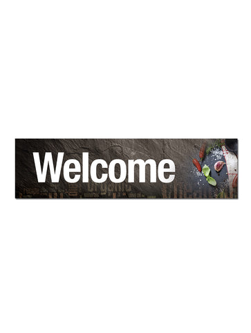 Graphite - Welcome Board