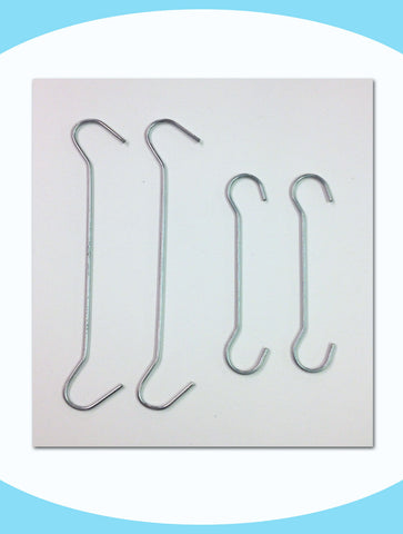 Signage Hanging Hooks - Two Lengths Available