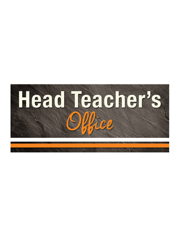 Graphite - Head Teacher Sign