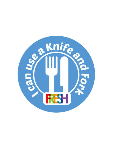 School Meals Stickers - Knife and Fork