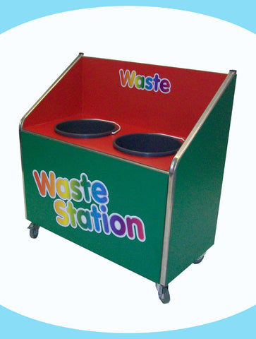 Juniors - Double Recycle Unit - 2 x 20ltr Bin