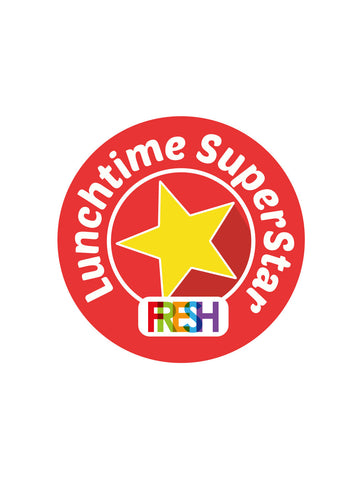 School Meals Stickers - Lunchtime Superstar