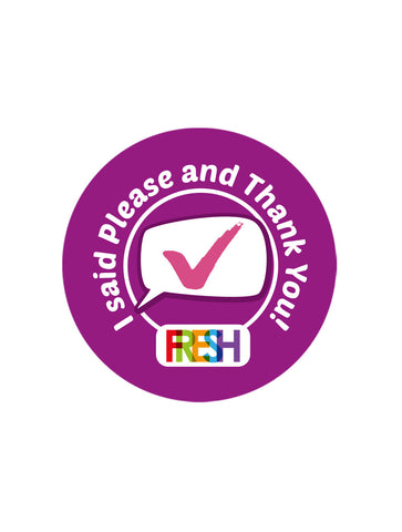 School Meals Stickers - Please and Thank You
