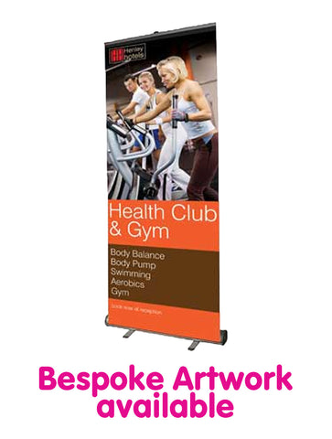 Economy Roll Up Banner - 800mm Wide