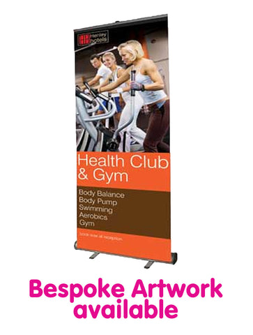 Economy Roll Up Banner - 850mm Wide