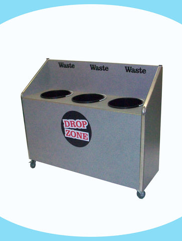 Seniors - Triple Recycle Unit - 3 x 20ltr Bin