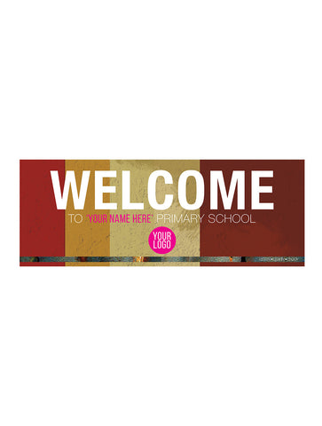 Industrial - School Welcome Board
