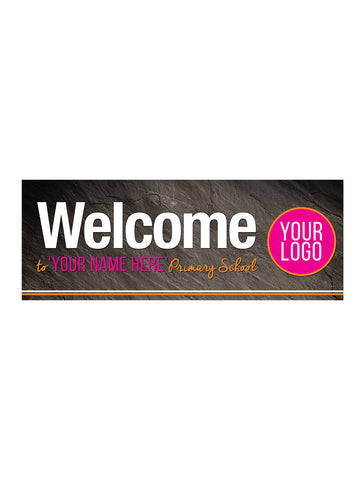 Graphite - School Welcome Board