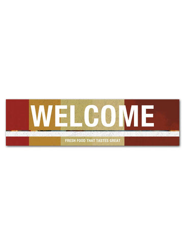 Industrial - Welcome Board