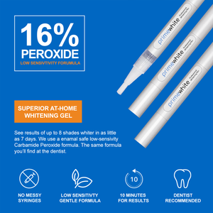 PrimeWhite 8 Shades Whiter Whitening Pen Infographic