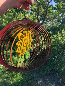 Sunflower Wind Spinner