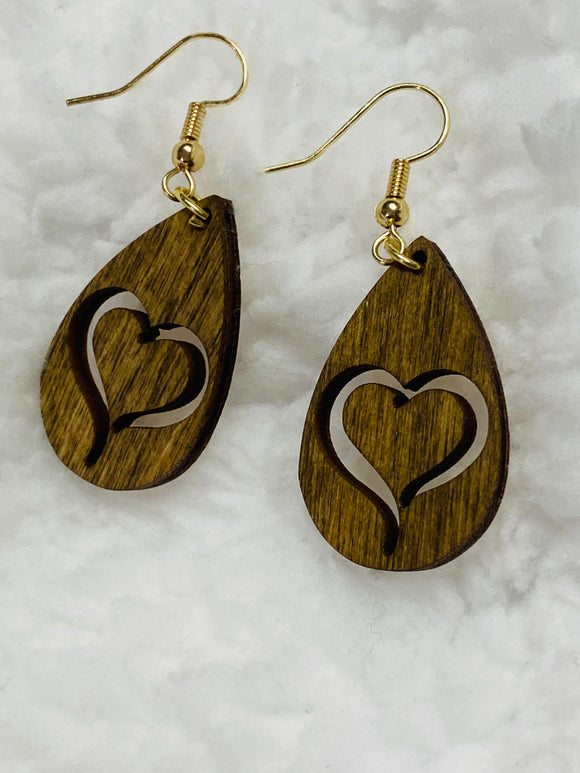 """In My Heart"" Earrings"