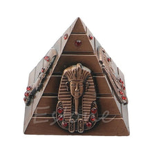 Load image into Gallery viewer, Egyptian Pharaoh Home Decorative Avatar Camel Metal Rhinestone Pyramids Antique 4 Colors