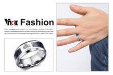 Load image into Gallery viewer, Carbon Fiber Ring For Man