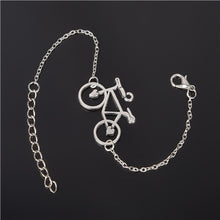 Load image into Gallery viewer, Simple Style Silver Plated Charm Bracelet