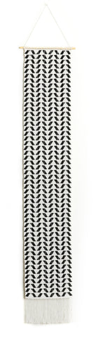 Extra Long Chevron Wall Hanging