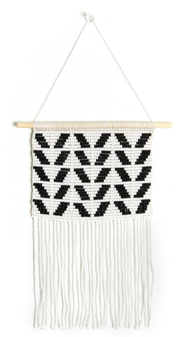 Small Chevron Wall Hanging