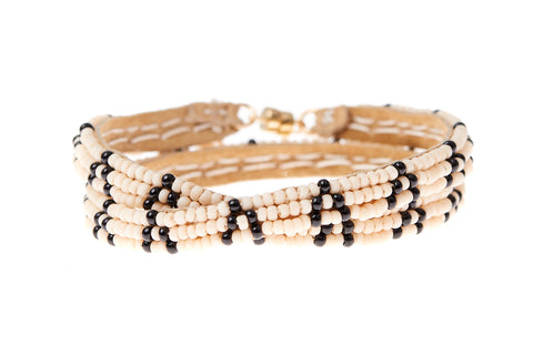 3 Dot Triangle XS Double Wrap Bracelet