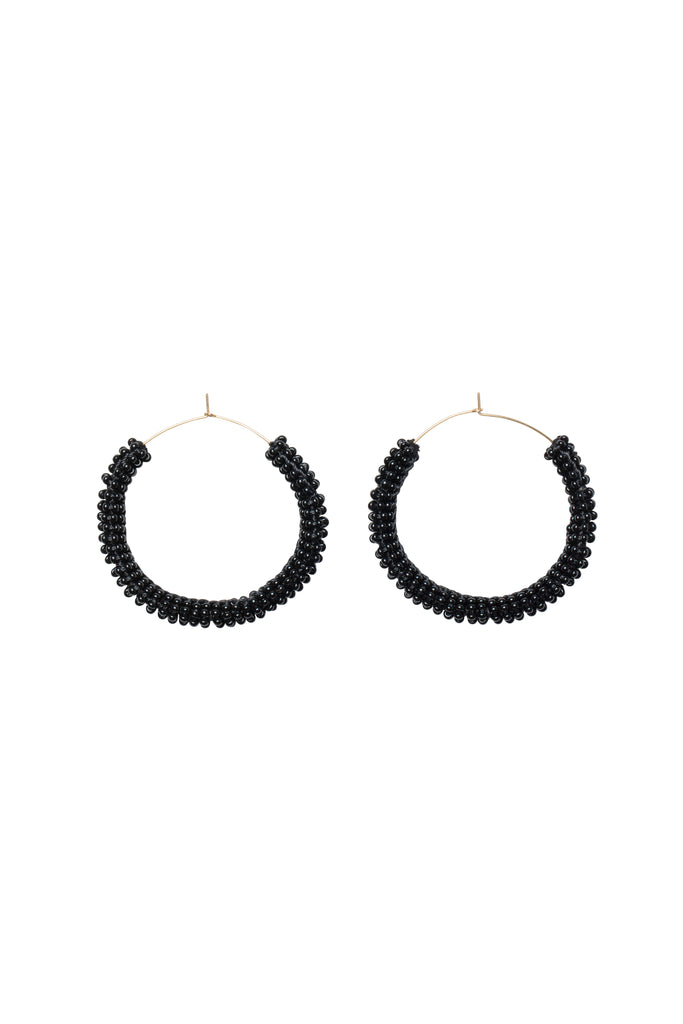 Jongoo Earrings - BLACK