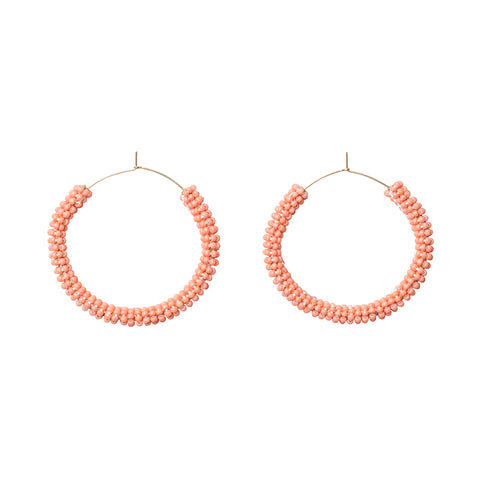 Jongoo Earrings - SALMON