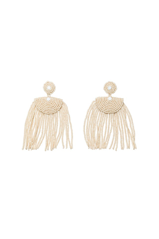 Kifungo Short Tassel Earrings - PINK