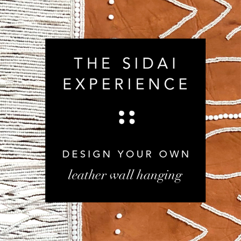 Design Your Own LEATHER Wall Hanging