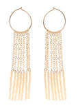 7 Tassel XS Hoop Earrings