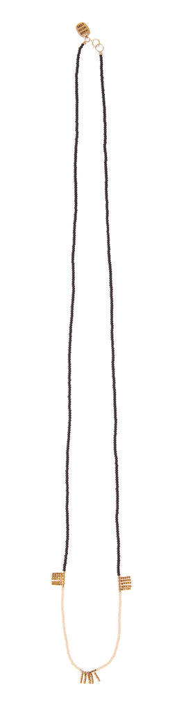 Long 5 Bar Block Kisongo Necklace